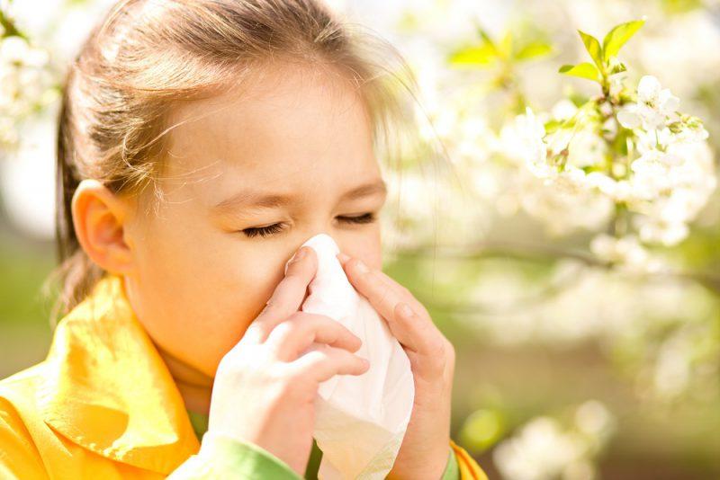 симптомы аллергии у детей