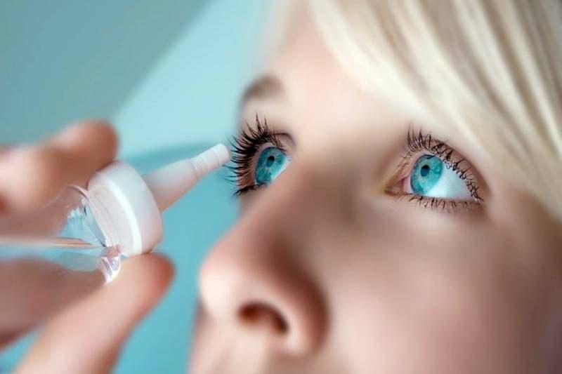 аллергия в области глаз