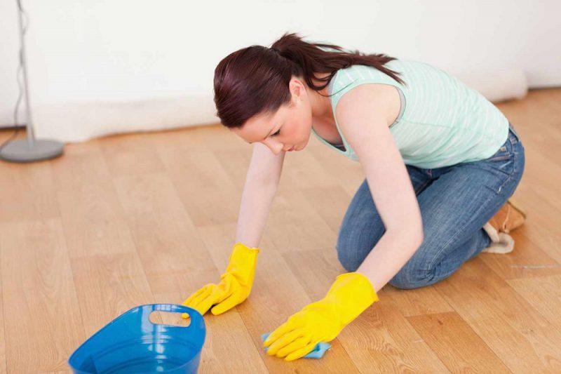 влажная уборка квартиры